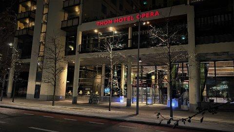 Den straffbare handlingen skjedde på dette hotellet i Dronning Eufemias gate i Oslo sentrum.