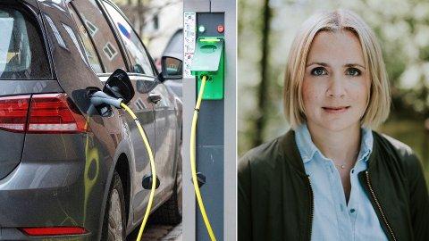 BLIR DET NOK LADERE?: Elbiler blir mer og mer populært for osloboere. Nå er Marit Vea i Venstre bekymret for at det ikke planlegges for nok ladeinfrastruktur i hovedstaden.