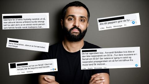 ENGASJEMENT: Mer enn 1000 personer engasjerte seg i kommentarfeltene til Avisa Oslo og Oslodebatten på Facebook og Instagram etter at Ahmed Fawad Ashraf uttrykte seg om fårikålen.