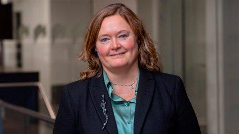 FORDELE: Venstre, Høyre og KrF har tre formål de mener må prioriteres ved fordeling av støtten. Gruppeleder Anne Haabeth Rygg (H) er avbildet.