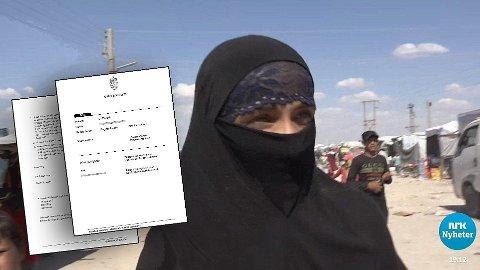IS-kvinnen nekter straffskyld for å ha deltatt i en terrororganisasjon. Hun mener blant annet at hun er blitt holdt der mot sin vilje.