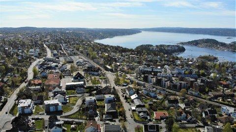 NORDSTRAND: I snitt har kvadratmeterprisen på Nordstrand økt med over 40.000 kroner på 15 år.
