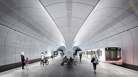 Slik skal nye Fornebu stasjon bli.
