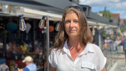 Laila Sagmyr Hansen er driftsjef hos Akershusgruppen. Hun er bekymret for fellesferien. Foto: Håvard Hjorthaug Vege (Mediehuset Nettavisen)