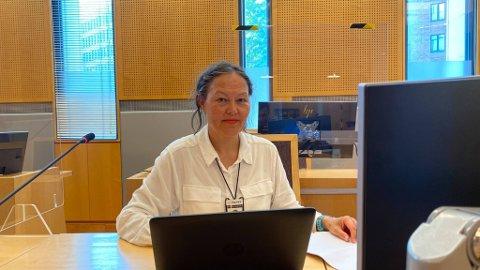BEVISFORSPILLELSE: Rita Parnas begrunnet påtalemyndighetens begjæring i faren for bevisforspillelse.