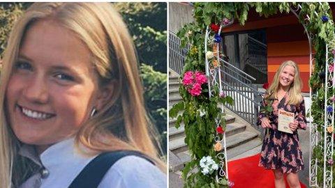 Benedicte Myrset (18) og Victoria Myrset (12) fra Oslo omkom etter et lynnedslag på Sunnmøre på søndag.