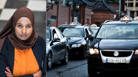 BEKYMRET: Andrekandidat for Oslo SV Marian Hussein er urolig for at regjeringens lovendringer i taxinæringen «kan bane veien for flere useriøse aktører med dårlige rutiner for å ivareta passasjerenes sikkerhet».