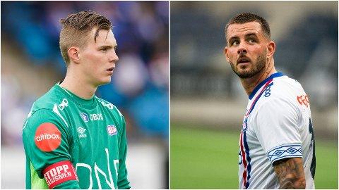 SOLGT: Kristoffer Klaesson og Aron Dønnum ble i juli solgt til Leeds United og Standard Liege.