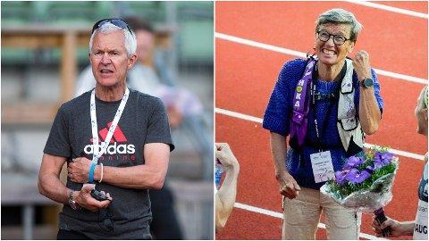 LØPERÅD: Jack Waitz og Ingrid Kristiansen har råd til deg som skal løpe Oslo Maraton.