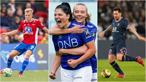 SPORTSHELG: Du kan se titalls av fotballkamper hos Avisa Oslo i helgen. Her finner du et utvalg.