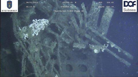 U-864: Mattilsynet gir fritt fram for fiske rundt ubåt-vraket.