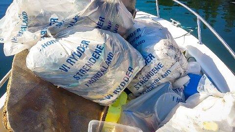 I løpet av fjoråret samarbeida klubben med Austrheim kommune, organiserte unge og gamle i ulike ryddeaksjonar, og samla inn 23 tonn avfall. Ein stor del av aksjonane var i sjøen og i strandsona rundt Austrheim, våren og sommaren 2017