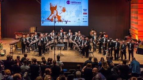 Eikanger Bjørsvik musikklag under brass-NM