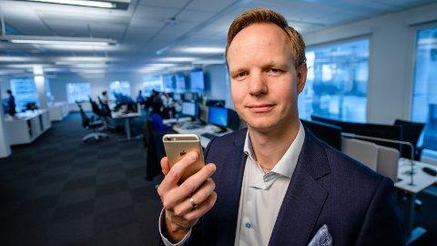 ADVARER: - Vær på vakt, sier Terje Aleksander Fjeldvær i DNB.