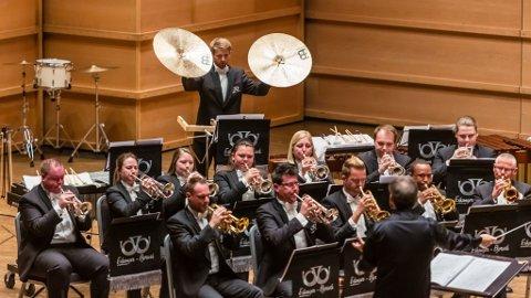 FLOTT INNSATS: Eikanger-Bjørsvik Musikklag med flott innsats og sterk 3. plass i EM i Sveits.
