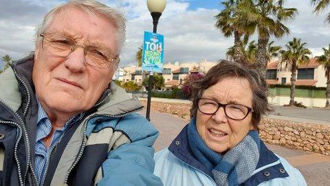 Ein vår på Costa Blanca enda med korona, og isolat på Haukeland sjukehus.