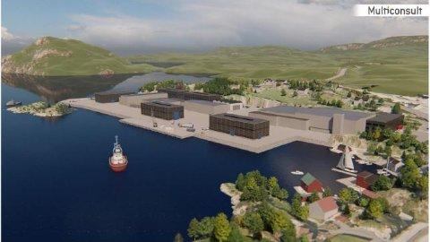 Slik skal Framo Flatøy sitt område etter planen sjå ut.