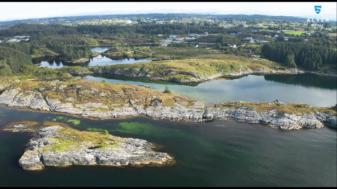 Utpå neset på Byngja skal dagsturhytta Sjøbua ligge. No har kommunen fått 500.000 til å bygge universell tilkomst.