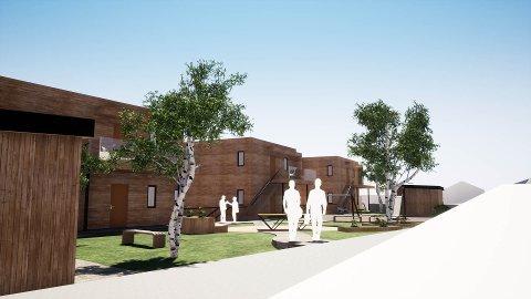 UTBYGGINGSPROSJEKT: Mastrevik Eigedom AS og Arkoconsult AS samarbeidar om utbyggingsprosjektet i Mastrevik.