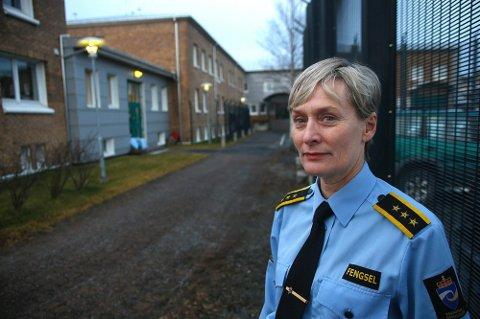 Marte Helness, fengselsleder i Bodø fengsel.
