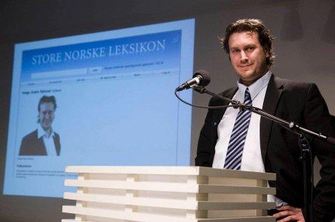 Lederen av kommunalkomiteen på Stortinget, Helge Andre Njåstad (Frp) mener det ikke er riktig å avgjøre spørsmålet om kommunesammenslåing med en folkeavstemning. Foto: Roald, Berit