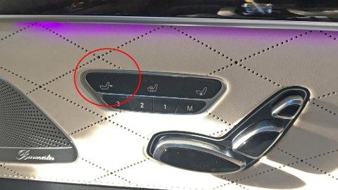 I de mest påkostede baksetene i Mercedes S-klasse, har du mulighet til å justere på sittestillingen din. Dessuten kan du fra det høyre baksetet justere passasjersetet foran! Dermed kan du lett kjøre forsetet helt fram og få god plass til bena ...