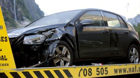 Sjansen for at man forårsaker en ulykke i trafikken varierer med alderen. Statistikk fra forsikringsselskapet If i Sverige viser at de unge ikke uventet er verstingene, mens vi skal helt opp til 75 år for å finne de sikreste sjåførene. Illustrasjonsfoto: Scanpix.