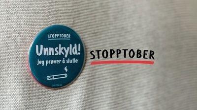 Stopptober: Kampanje med mål om få flest mulig til å stumpe røyken og droppe snusen for godt i oktober.