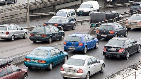 Det er 39.000 kjøretøy på norske veier uten forsikring - selv om dagsbøtene løper hver eneste dag. Foto: Illustrasjonsfoto: Terje Bendiksby (SCANPIX)