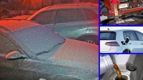 Akkurat nå er det bitende kaldt. Det skaper noen utfordringer for bilistene. Det er viktig å være godt forberedt, om du skal unngå problemer. Illustrasjonsfoto