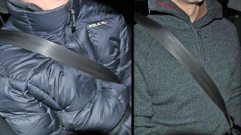 Store forskjeller: Bruker du boblejakke under bilbeltet kan det få katastrofale følger.