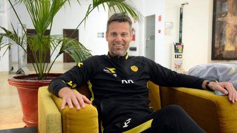 GLEDER SEG: Bodø/Glimts ferske hovedtrener, Kjetil Knutsen, forstår at enkelte kan være skeptiske til hans manglende erfaring som hovedtrener på toppnivå. Anders Bakkerud Larsen (Nettavisen)
