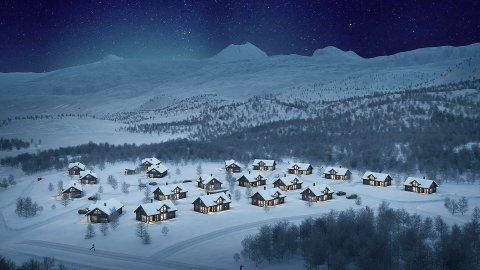Seks av de syv største hyttene i «Hyttesvingen» er  solgt. Saltdalshytta regner med at resten selges i løpet av året.