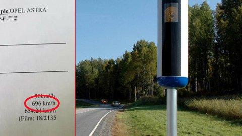 måle km på kart Nordlys   Opel tatt i fotoboks – ble målt til 696 km/t! måle km på kart