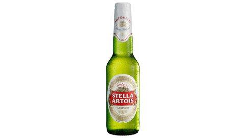Ringnes tilbakekaller 33-centiliters glassflasker med Stella Artois.