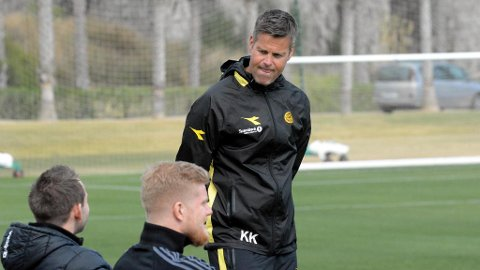 SVARER HAUGE: Glimt-trener Kjetil Knutsen mener det er gode grunner til at Jens Petter Hauge ikke har fått mer spilletid.