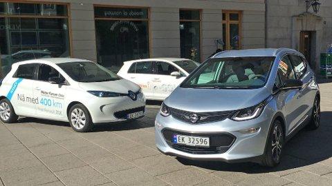 MEST POPULÆR: Renault Zoe, VW e-Golf og Opel Ampera-e er blant de mest populære nybilene i elbilmarkedet. De er også svært attraktive som bruktbiler.
