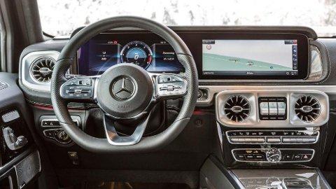 Nye Mercedes G-klasse er en stor salgssuksess. Så stor at det er er lang ventetid på flere typer.