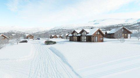 Pangstart: Saltdalshytta fikk sin beste salgstart i selskapets historie når startskuddet gikk påskeaften i fjor. På under en uke ble halvparten av de 20 hyttene solgt. Nå er tre nye hytter solgt og et nytt hyttefelt skal åpnes i Sulitjelma Fjellandsby.