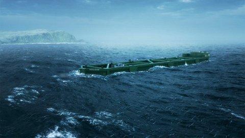 Gjenytelse: Politikerne i Hamarøy vil ha noe igjen for å stille havområder til disposisjon for havfarm.