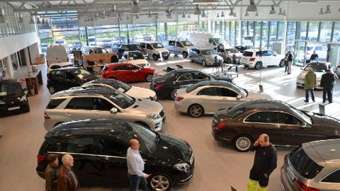Bilsalget i Norge har startet forsiktig i januar, vi skal hele ti år tilbake i tid for å finne lavere tall for denne måneden.