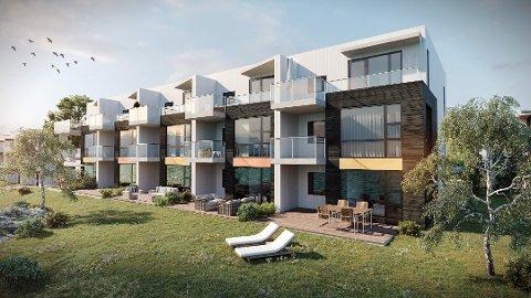 Opp mot 400 nye boliger skal være på plass i Bodøsjøen. Boligene skal ligge rett ved havet.