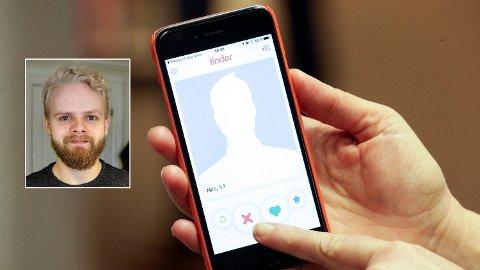 TINDER: Torstein (23) er 1.70 høy og lei av å bli valgt bort på datingmarkedet på grunn av høyden sin. Foto: NTB Scanpix/Ulrika Lein