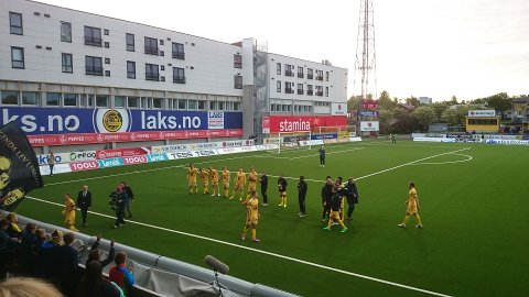 Fra 1-0-seieren over Rosenborg i 2015.