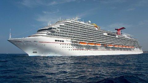 Seksuelle forhold mellom ansatte foregår i stor skala, ifølge ansatte. Bildet viser et skip fra Carnival Vista Line.