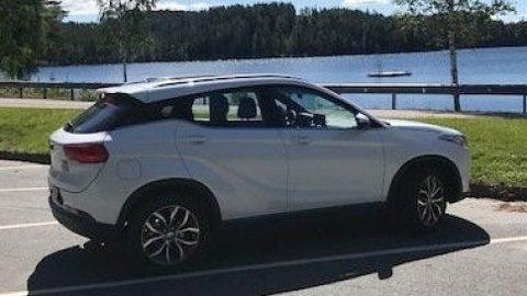 Her er den! Dette er elbilen som Subaru-importør Autoindustri har hentet til Norge. Foto: Bilbransje24.no.