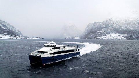 Innstilte: Det har vært mange innstillinger på de nye hurtigbåtene Elsa Laula Renberg og Regine Normann den siste tiden. Det har ført til mye kritikk i Steigen.