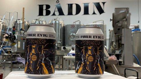 Fikk avslag: Selskapet og den første butikken av slitt slag er glade for å kunne samarbeide og vise fram Bådin bryggeri fra Bodø, men de har  møtt på et annet problem i Bodø.