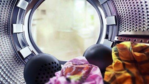 SVT presenterer en skisse på hvordan den Luleå-utviklede vaskeballen kan bli seende ut fra selskapet Ozonenair.