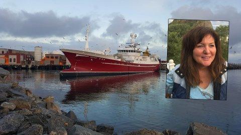 Røssnesvågen benyttes av store fartøy som leverer råstoff til industrien, blant annet til Lofoten Viking.  – Det offentlige har investert store summer i værøysamfunnet, og det har vært vel investerte penger der vi har gitt tilbake til storsamfunnet så det monner, sier værøyordfører Susan Berg Kristiansen.